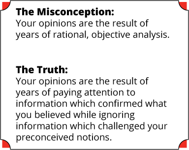 Confirmation Bias Summary